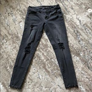 American Eagle Super Stretch Black Jeans size 4